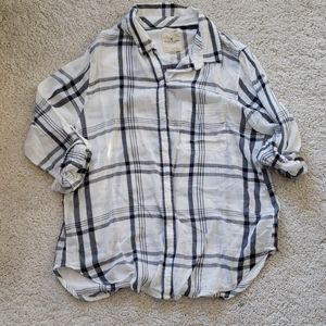 AEO Boyfriend Fit Plaid